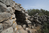 Nuraghe Tuttusoni  One of the Nuraghic Ruins in the Province of Gallura  Sardinia  Italy