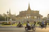 The Royal Palace  Phnom Penh  Cambodia  Indochina  Southeast Asia  Asia