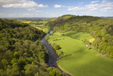 View over Wye Valley from Symonds Yat Rock