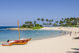 Ko Olina Beach  West Coast  Oahu  Hawaii  United States of America  Pacific