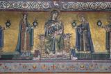 Mosaic on Facade of the Church of Santa Maria in Trastevere