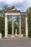 Roman Column and Lintel Structure  Villa Borghese Park  Rome  Lazio  Italy