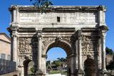 Arch of Septimus Severus  Ancient Roman Forum  Rome  Lazio  Italy