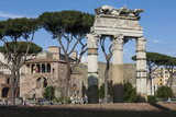Basilica Aemilia  Near Trajans Markets  Ancient Roman Forum  Rome  Lazio  Italy