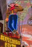 Vegas Vic Cowboy Neon Sign  Fremont Experience  Las Vegas