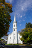 Church in Lee  the Berkshires  Massachusetts  New England  United States of America  North America
