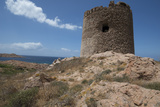 The Torre Aragonese  a Spanish Tower Dating from the Year Ad500  Isola Rossa