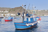 Fishing Boats at the Harbour  Playa De Santiago  La Gomera  Canary Islands  Spain  Atlantic  Europe