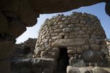 Nuraghe La Prisgiona Archaeological Site  Dating from 1300 Bc  Near Arzachena  Sardinia  Italy