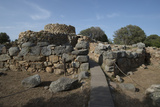 Nuraghe La Prisgiona Archaeological Site  Dating from 1300 Bc  Near Arzachena  Sardinia  Italy