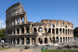 Colosseum  Ancient Roman Forum  Rome  Lazio  Italy