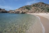 Li Cossi Beach at Costa Paradiso  Sardinia  Italy  Mediterranean