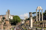 Roman Forum with Temple of Vesta