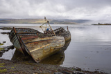 Wrecks of Fishing Boats  Near Salen  Isle of Mull