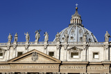 St Peter's Basilica  Vatican City  Rome  Lazio  Italy