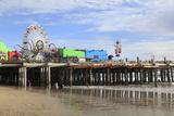 Santa Monica Pier  Pacific Park  Santa Monica  Los Angeles  California  Usa