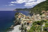Vernazza  Cinque Terre  UNESCO World Heritage Site  Liguria  Italy  Europe