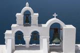 Church Bells  Oia  Santorini  Cyclades  Greek Islands  Greece