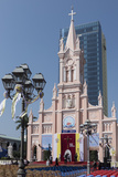 Cathedral  Danang  Vietnam  Indochina  Southeast Asia  Asia