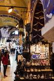 Interior of Grand Bazaar (Kapali Carsi)  Istanbul  Turkey