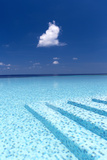 Infinity Pool in the Maldives  Indian Ocean