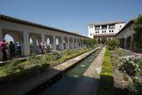 Generalife  Alhambra  Granada  Province of Granada  Andalusia  Spain