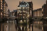 Speicherstadt District  Hafencity  Hamburg  Germany  Europe