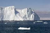 Icebergs in Ilulissat Icefjord  Greenland  Denmark  Polar Regions