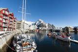 Svolvaer  Lofoten Islands  Nordland  Arctic  Norway  Scandinavia