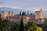 The Alhambra  Granada  Andalucia  Spain