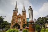 Notre Dame Cathedral  Ho Chi Minh City (Saigon)  Vietnam  Indochina  Southeast Asia  Asia