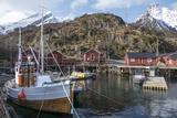 Nusfjord  Lofoten Islands  Nordland  Arctic  Norway  Scandinavia