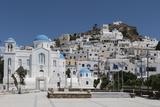 Chora  Ios  Cyclades  Greek Islands  Greece