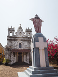 Old Portuguese Church in Grounds of Fort Tiracol  Goa  India  Asia