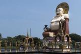 Buddha  Choeng Mon Temple  Koh Samui  Thailand  Southeast Asia  Asia