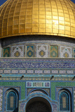 Dome of the Rock Mosque  Temple Mount  UNESCO World Heritage Site  Jerusalem  Israel  Middle East