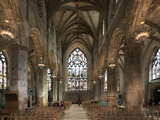 Interior Looking East from the Crossing  St Giles' Cathedral  Edinburgh  Scotland  United Kingdom