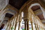 Palacios Nazaries  the Alhambra  Granada  Andalucia  Spain