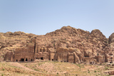 Royal Tombs  Petra  Jordan  Middle East