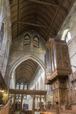 Nave and Organ from the Choir  Dunblane Cathedral  Dunblane  Stirling  Scotland  United Kingdom