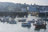 Little Fishing Boats in the Harbour of Saint Peter Port  Guernsey  Channel Islands  United Kingdom