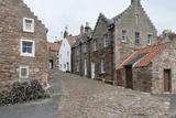 A Street in Crail with Lobster Pots  Fife Coast  Scotland  United Kingdom