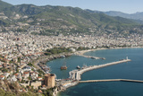 Harbour Seen from Kale Fortress  Alanya  Southern Turkey  Anatolia  Turkey  Asia Minor  Eurasia
