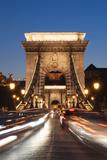 Chain Bridge (Szechenji Lanchid) at Twilight