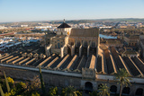 Patio De Los Naranjos and the Mezquita Cathedral Seen from its Bell Tower