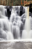 Goitstock Waterfall in Goitstock Wood  Cullingworth  Yorkshire  England  United Kingdom  Europe