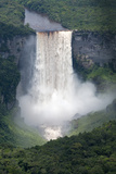 Aerial View of Kaieteur Falls in Full Spate  Guyana  South America