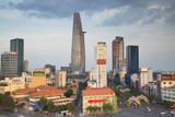 View of Bitexco Financial Tower and City Skyline  Ho Chi Minh City  Vietnam  Indochina