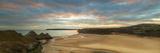 Three Cliffs Bay  Gower  Peninsula  Swansea  West Glamorgan  Wales  United Kingdom  Europe