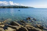 View over Nkhata Bay  Lake Malawi  Malawi  Africa